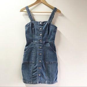 2/$25 🌸 Divided by H&M Denim Dress Sz 2